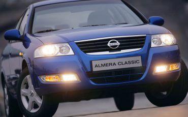 Машина, Nissan Almera