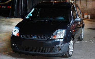 Авто, Форд, черного цвета