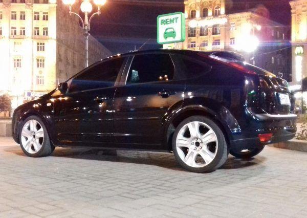 Черное авто, анерда