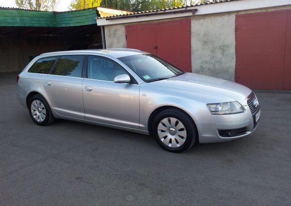 Машина, Audi A6, вид сбоку