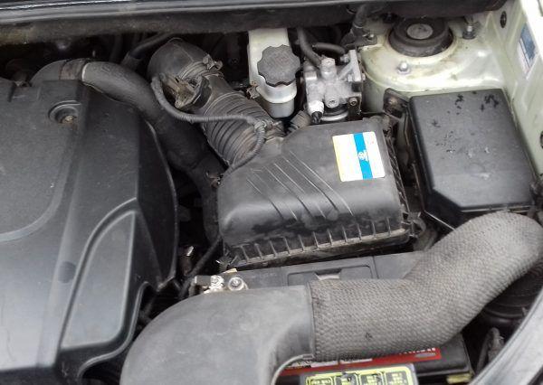 Автомобиль, под капотом