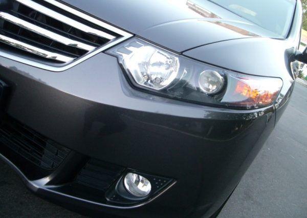 Машина, Honda Accord, фары, бампер
