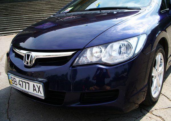 Авто Honda Civic, фара