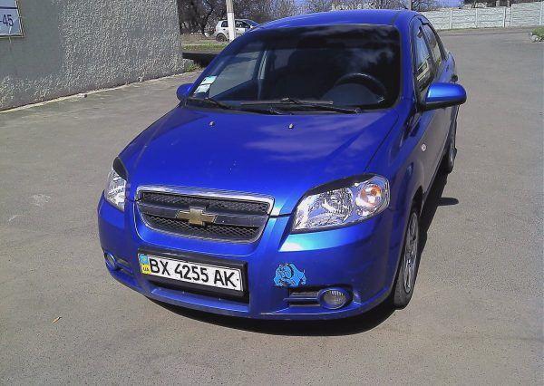 Авто, Chevrolet Aveo, вид спереди