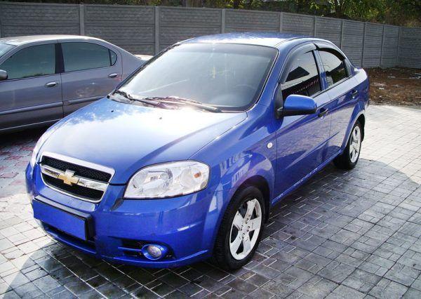 Авто, Chevrolet Aveo Blue